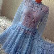"""Одежда ручной работы. Ярмарка Мастеров - ручная работа Ажурный комплект """"Небесная фея"""" авторской ручной работы. Handmade."""