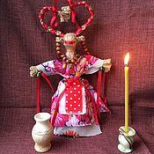 Народная кукла ручной работы. Ярмарка Мастеров - ручная работа Славянская кукла оберег Коза. Handmade.