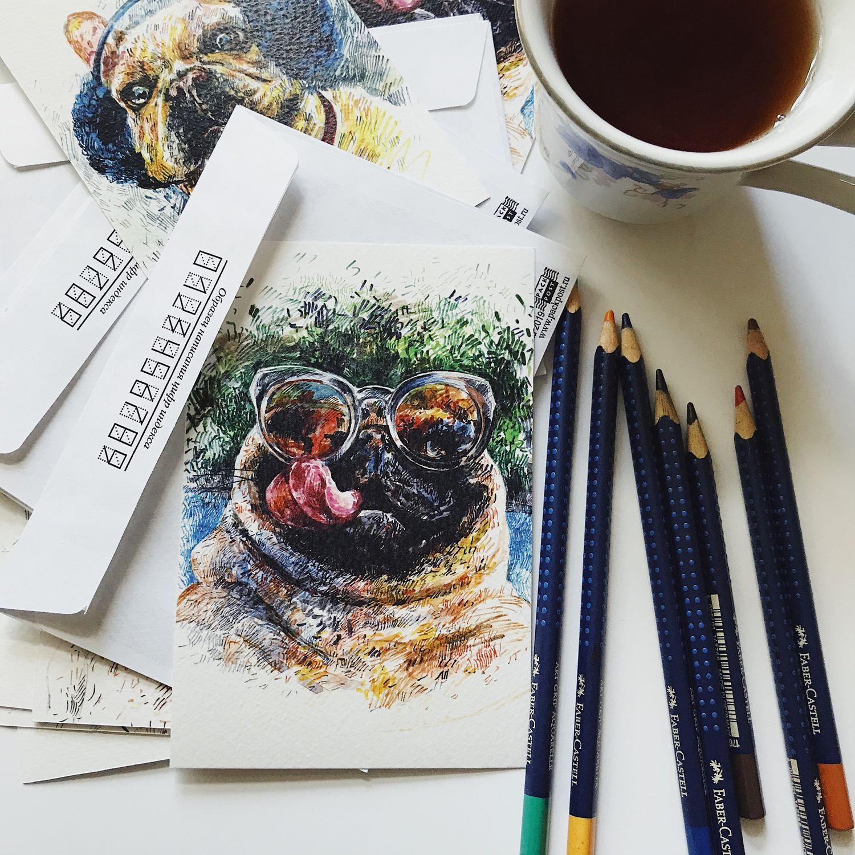 Поздравительные открытки, Открытки, Москва,  Фото №1