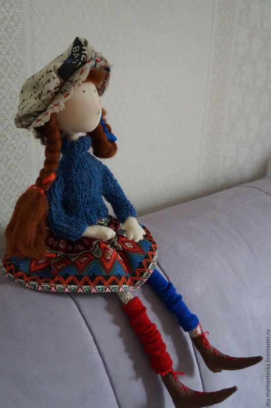 Коллекционные куклы ручной работы. Ярмарка Мастеров - ручная работа. Купить Пеппилотта. Handmade. Кукла ручной работы, подарок девушке