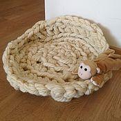Для домашних животных, ручной работы. Ярмарка Мастеров - ручная работа Лежанка для собак и кошек, коврик лежак для животных. Handmade.