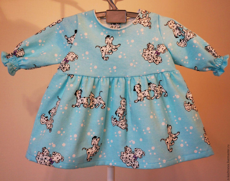 Детское платье из фланели