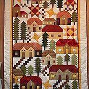 Для дома и интерьера handmade. Livemaster - original item blanket patchwork. Handmade.