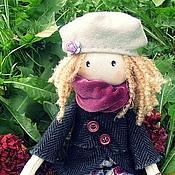 """Куклы и игрушки ручной работы. Ярмарка Мастеров - ручная работа Девочка """"Осень"""". Handmade."""
