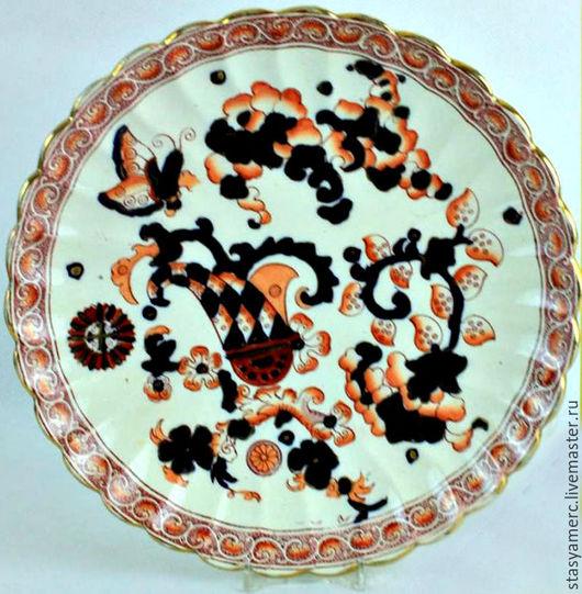 Винтажная посуда. Ярмарка Мастеров - ручная работа. Купить Антикварная тарелка  KEELING & Co  Англия. Handmade. Тарелка