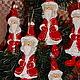 Новый год 2017 ручной работы. Санта-Клаус. Елочные игрушки из папье-маше. Родионова Светлана. Ярмарка Мастеров. Елочная игрушка