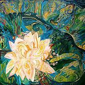 Картины и панно handmade. Livemaster - original item Picture. Botanical garden. Handmade.