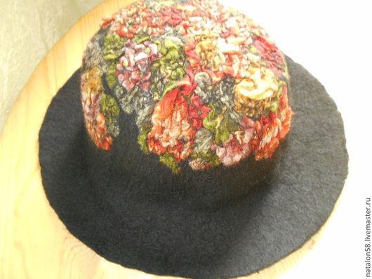 Шляпы ручной работы. Ярмарка Мастеров - ручная работа. Купить Модель №19 .Незнакомка. Handmade. Черный, шляпка, фаляние