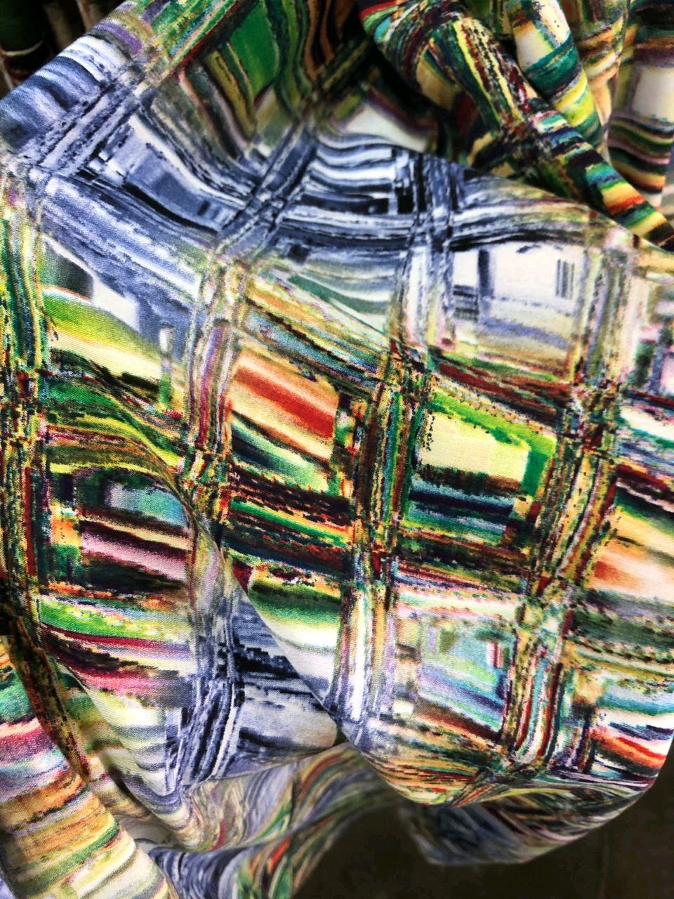 Ткань штапель ФМа 01цв.22 .6, 2 вида, Ткани, Москва,  Фото №1