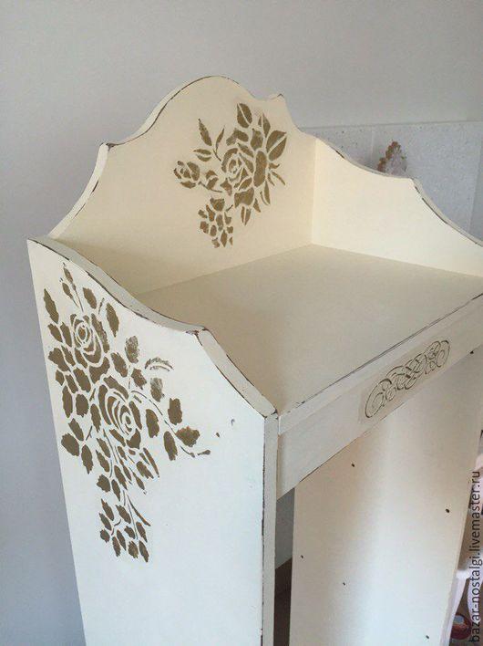 Мебель ручной работы. Ярмарка Мастеров - ручная работа. Купить Полка для контейнеров. Handmade. Полка для контейнеров