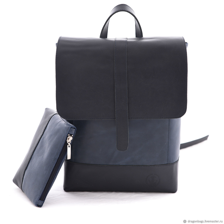 """Рюкзаки ручной работы. Ярмарка Мастеров - ручная работа. Купить Рюкзак кожаный женский """"Oxfort"""". Handmade. Рюкзак, рюкзак кожа"""