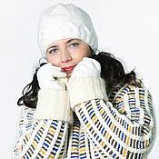 Одежда ручной работы. Ярмарка Мастеров - ручная работа Вязанное пальто Снежная королева. Handmade.