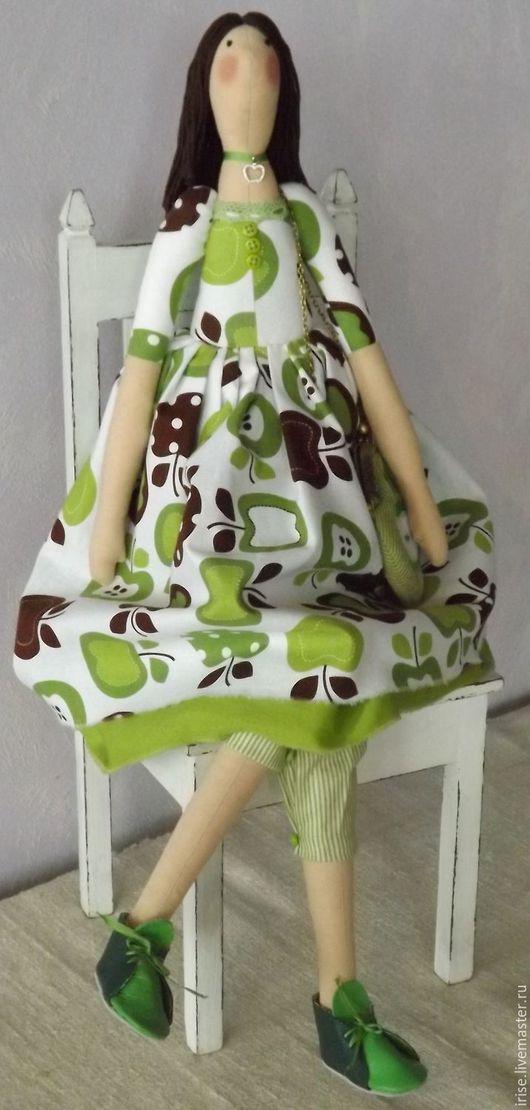 Куклы Тильды ручной работы. Ярмарка Мастеров - ручная работа. Купить Кукла-Тильда Яблочная Фея. Handmade. Кукла Тильда