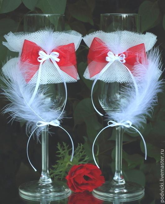 Бокалы Свадебные бокалы Фужеры свадебные фужеры Бокалы на свадьбу