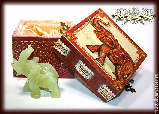 """Шкатулки ручной работы. Ярмарка Мастеров - ручная работа. Купить """"Тайна Махараджи"""". Handmade. Шкатулка для украшений, подарок на любой случай"""