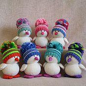 Куклы и игрушки ручной работы. Ярмарка Мастеров - ручная работа Птенец в шапочке. Handmade.