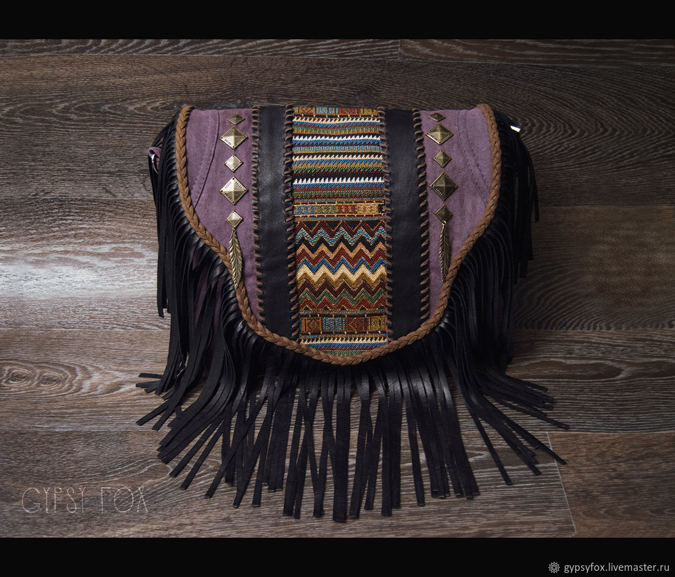 Purple Denim Bag, Crossbody bag, Tyumen,  Фото №1