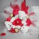 Очаровательные медвежата и конфеты-отличный подарок на день Рождения или просто так!Надежда ярмарка мастеров.