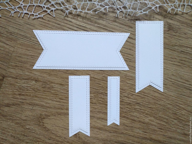 !Cutting scrapbooking Tags, set of 8 tags, diz cardboard, Scrapbooking cuttings, Mytishchi,  Фото №1