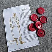 Материалы для творчества handmade. Livemaster - original item Buttons in the style of MM. Handmade.