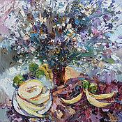 """Картины ручной работы. Ярмарка Мастеров - ручная работа """"Полевые цветы"""" .  Картина  натюрморт маслом. Handmade."""
