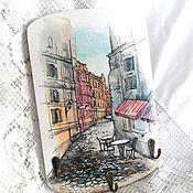 Для дома и интерьера handmade. Livemaster - original item The housekeeper panels Favorite street. Handmade.