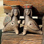 Музыкальные инструменты handmade. Livemaster - original item ocarinas: Sirin and Alkonost. Handmade.