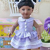 Куклы и игрушки ручной работы. Ярмарка Мастеров - ручная работа Платья для мини адорок, винтажных кукол 20см. Handmade.