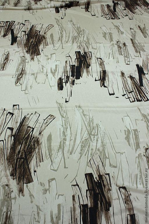 Шитье ручной работы. Ярмарка Мастеров - ручная работа. Купить Органза шелковая. Handmade. Кремовый, шифоновое платье, итальянские ткани