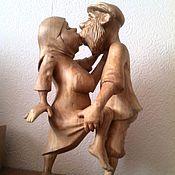Для дома и интерьера handmade. Livemaster - original item Wooden statue