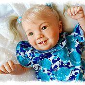 Куклы и игрушки ручной работы. Ярмарка Мастеров - ручная работа Кукла реборн Emilia (Эмилия) by Ping Lau. Handmade.
