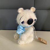 Мягкие игрушки ручной работы. Ярмарка Мастеров - ручная работа Медвежонок «Пьер». Handmade.