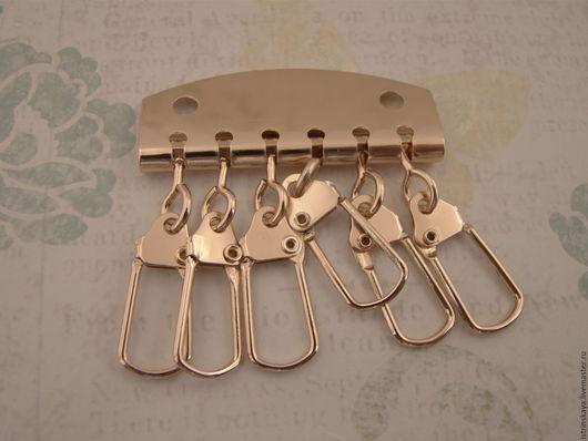 Другие виды рукоделия ручной работы. Ярмарка Мастеров - ручная работа. Купить Ключница А022/6 золото. Handmade. Ключница, кожгалантерея