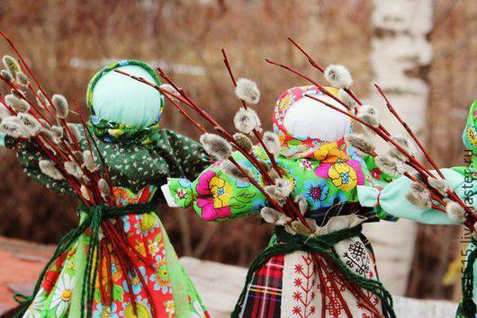 Сувениры ручной работы. Ярмарка Мастеров - ручная работа. Купить Кукла оберег Вербница.. Handmade. Комбинированный, кукла - оберег, ветки