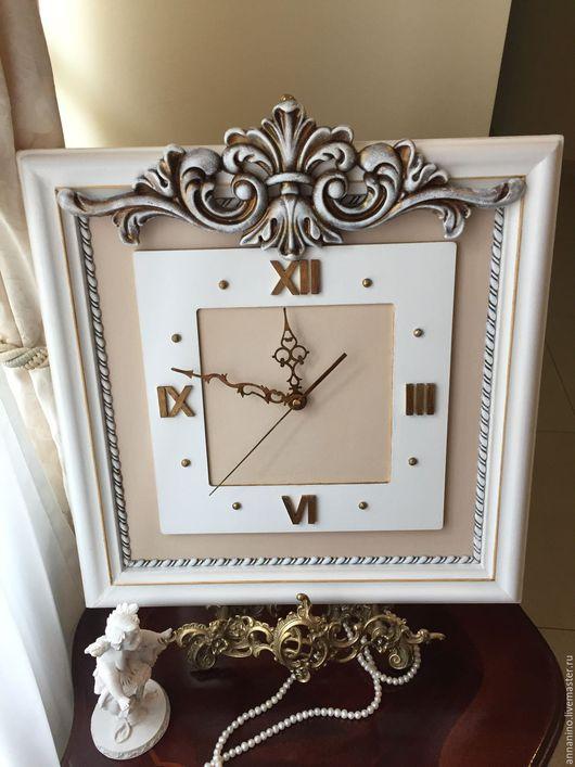 Часы для дома ручной работы. Ярмарка Мастеров - ручная работа. Купить Часы настенные Вдохновение (по мотивам). Handmade. Часы
