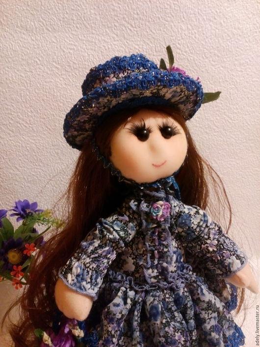 Коллекционные куклы ручной работы. Ярмарка Мастеров - ручная работа. Купить Интерьерная кукла Марина. Handmade. Комбинированный, подарок подруге