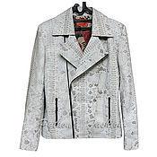 Одежда handmade. Livemaster - original item The jacket of Python SENTOSA. Handmade.