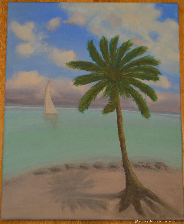 Счастливая пальма, Картины, Ставрополь,  Фото №1