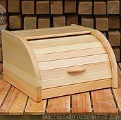 Хлебницы ручной работы. Ярмарка Мастеров - ручная работа Хлебница деревянная из кедра. Handmade.