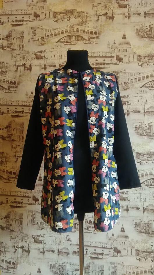 Пиджаки, жакеты ручной работы. Ярмарка Мастеров - ручная работа. Купить Летнее пальто. Handmade. Комбинированный, жакет женский