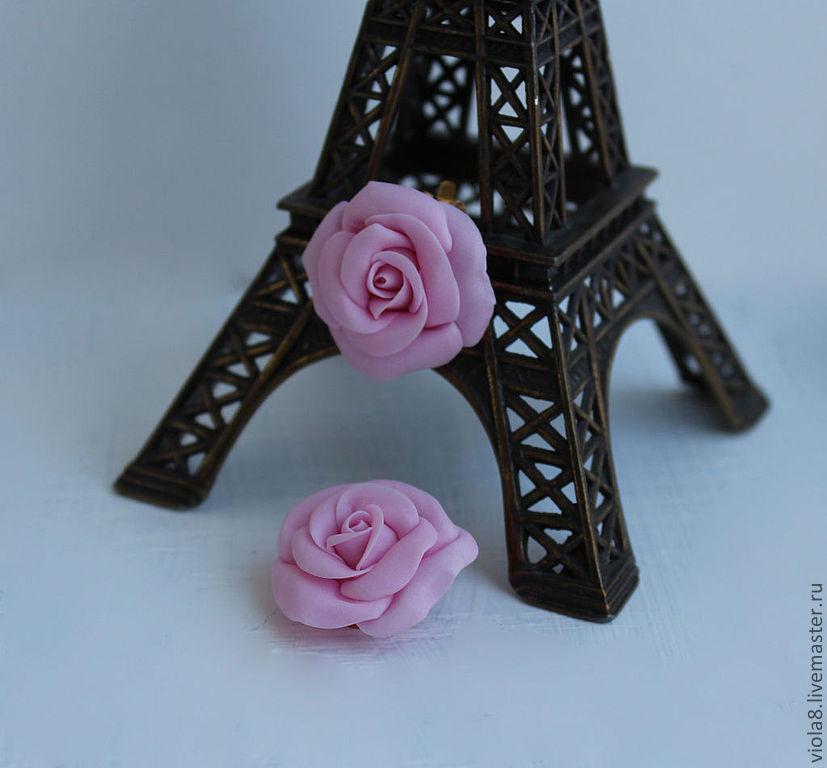 53fe74150f38 ... Клипсы с цветами,розы,серьги с цветами,клипсы с розами,клипсы для ...
