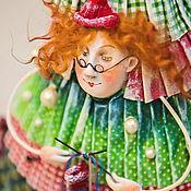 Куклы и игрушки ручной работы. Ярмарка Мастеров - ручная работа Вязальщица. Handmade.