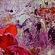"""Картины цветов ручной работы. """"Большая Маленькая Вселенная"""" картина акриловыми красками. ЯРКИЕ КАРТИНЫ Наталии Ширяевой. Ярмарка Мастеров."""