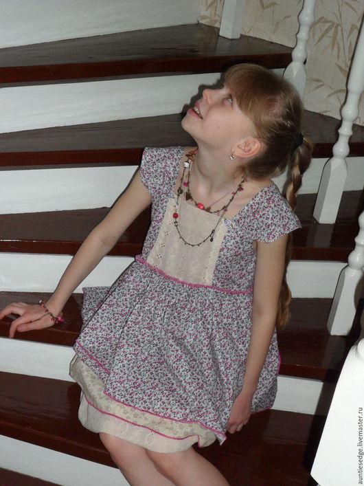 Одежда для девочек, ручной работы. Ярмарка Мастеров - ручная работа. Купить ПЛАТЬЕ для девочки ДОЛЛИ. Handmade. Комбинированный, батист
