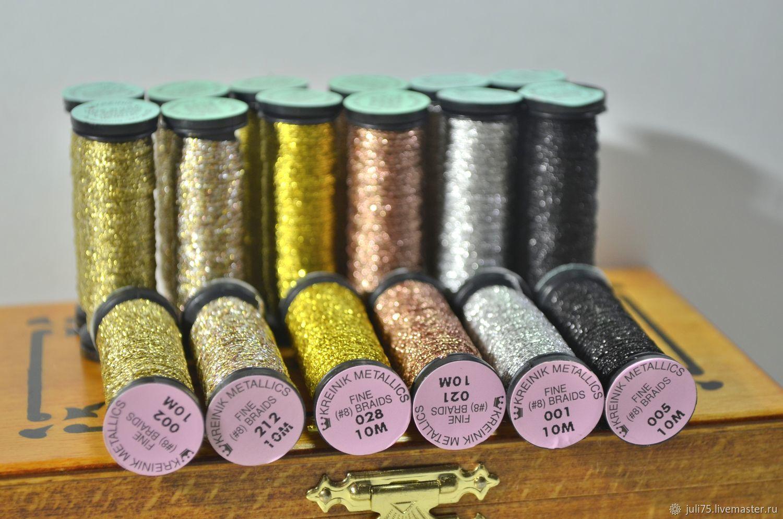 Металлизированные нитки для вышивки 471