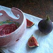 Посуда ручной работы. Ярмарка Мастеров - ручная работа Цветок пиона. Handmade.