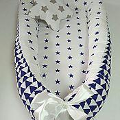 Работы для детей, ручной работы. Ярмарка Мастеров - ручная работа Кокон гнездышко для новорожденного babynest. Handmade.