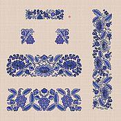 "Creator\`s Kit handmade. Livemaster - original item Дизайны машинной вышивки набор ""Милори"". Handmade."