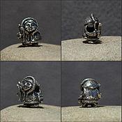 Материалы для творчества handmade. Livemaster - original item Inuit boy charm. Handmade.