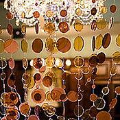 """Дизайн и реклама ручной работы. Ярмарка Мастеров - ручная работа Шторы из бусин """"Кофе"""". Handmade."""